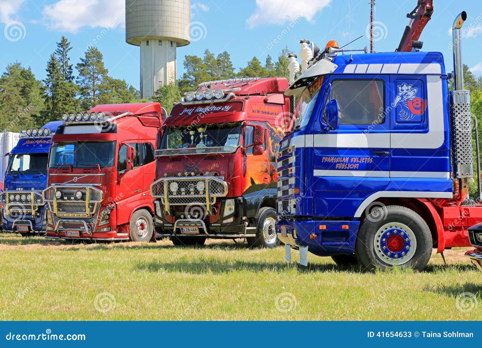 Truck Art At HeMa Show In Loimaa, Finland Editorial Stock Photo - Image: 41654633