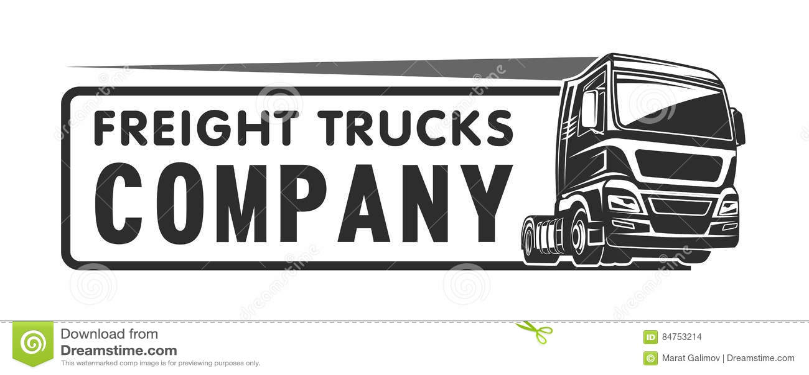 the gallery for gt semi truck logo design