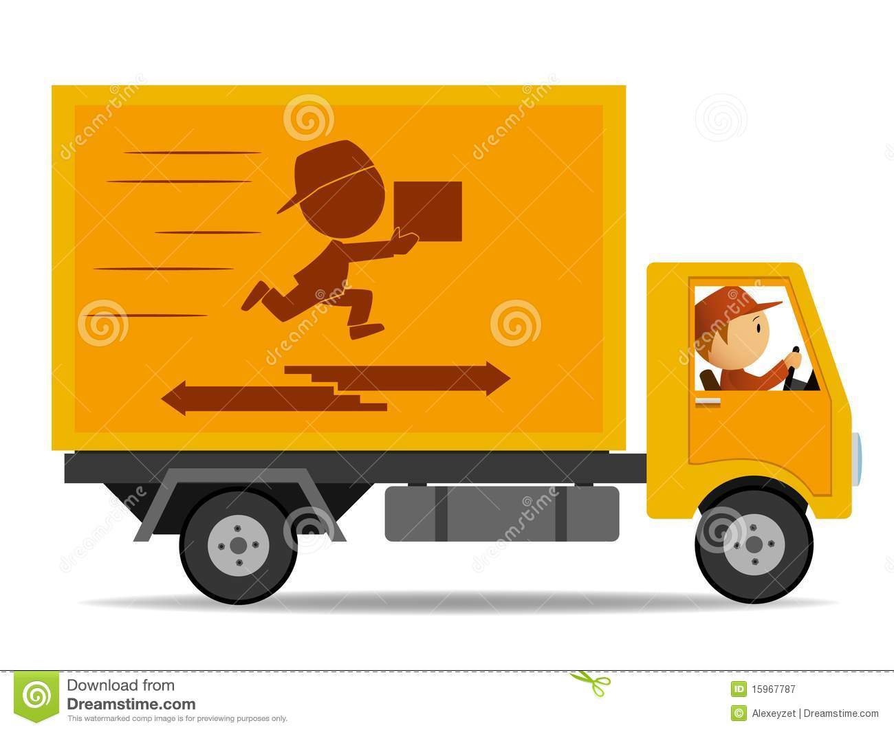 delivery driver clip art - photo #14