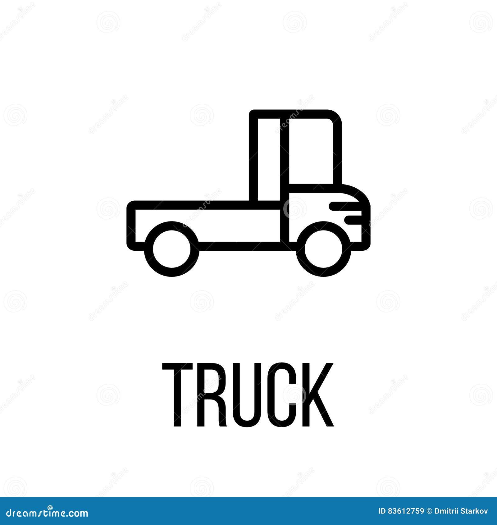 Truck logo icon cartoon vector 28080723 for Truck design app