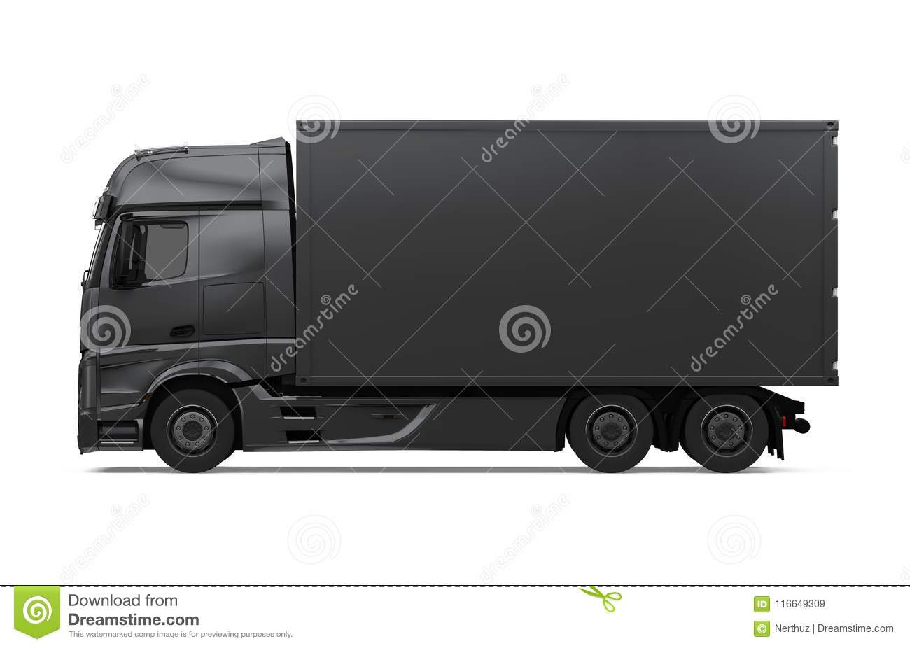 Truck Isolated