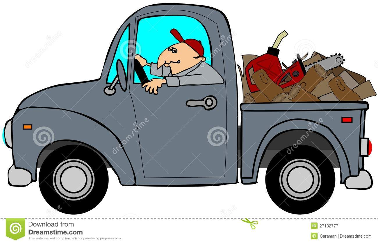 Truck Loaded With Wood Royalty Free Stock Photography - Image: 27182777