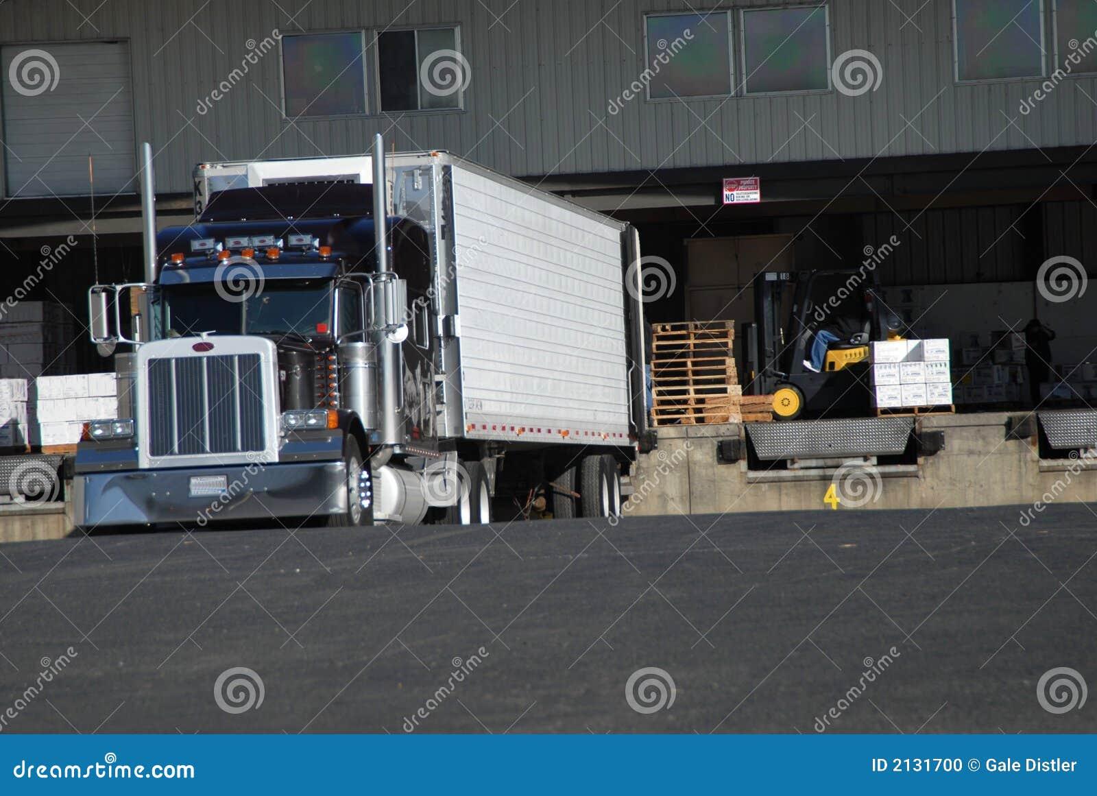 Truck loading