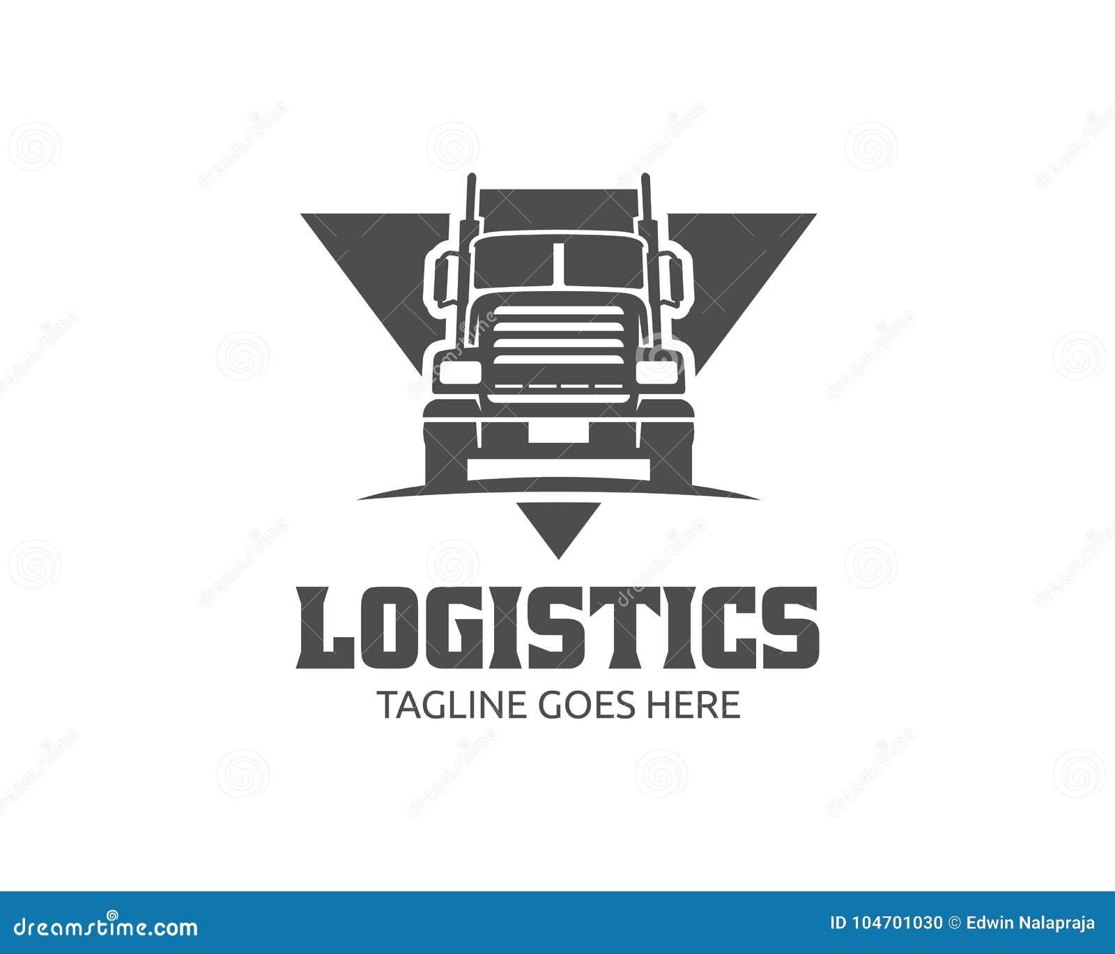 Truck Logo, Cargo Logo, Delivery Cargo Trucks, Logistic ...