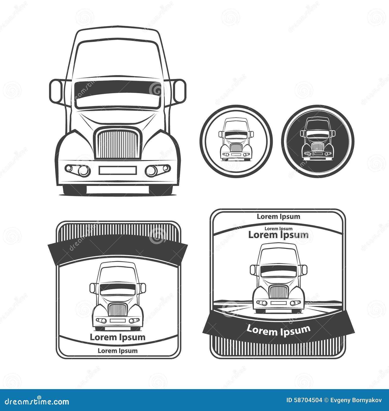 Truck7 Stock Vector - Image: 58704504