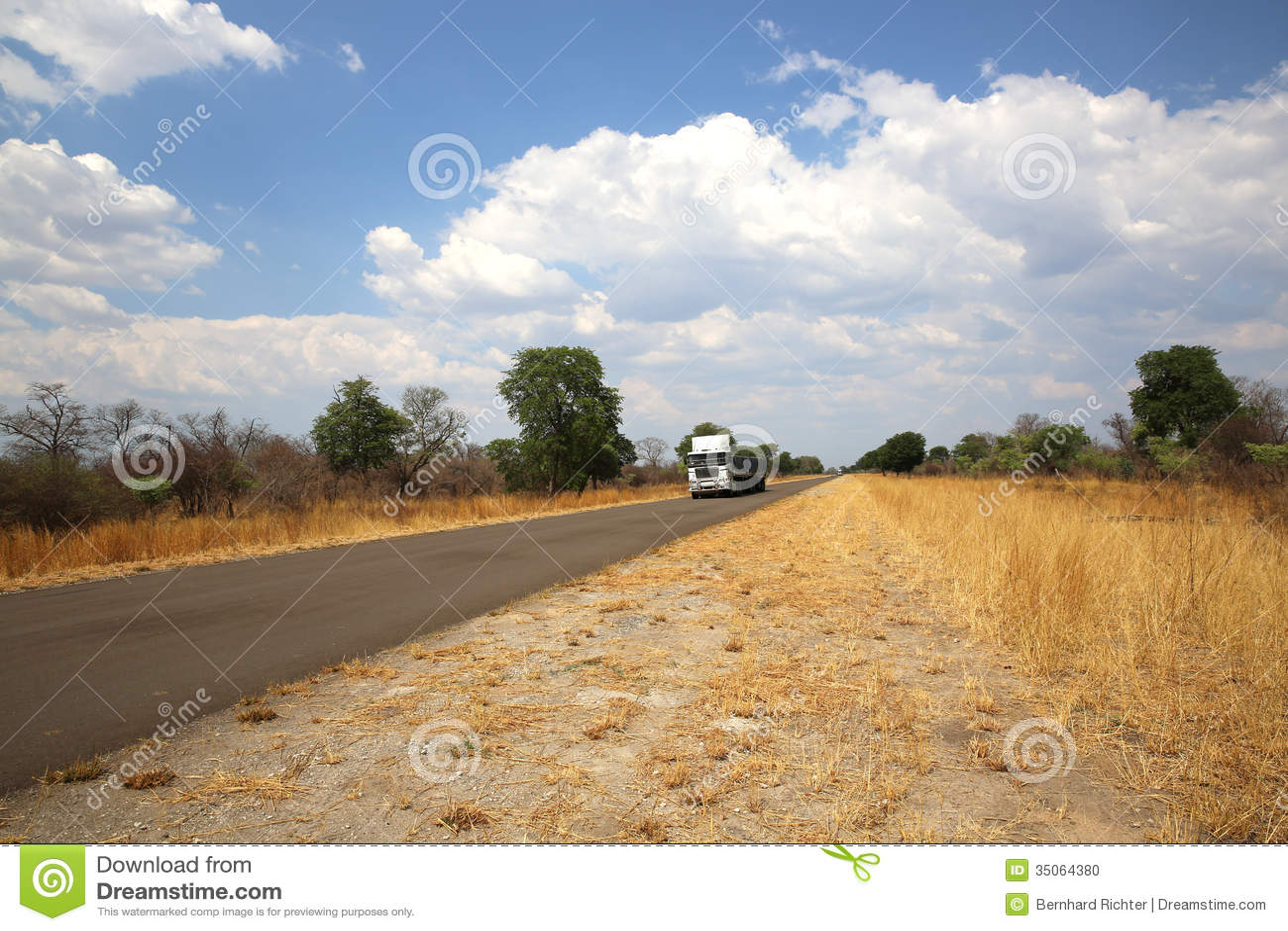 Katima Mulilo Namibia  City pictures : Truck near Katima Mulilo at the Caprivi Strip. Namibia.