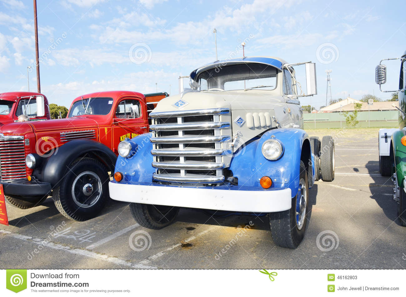 Truck. editorial stock photo. Image of guards, international - 46162803
