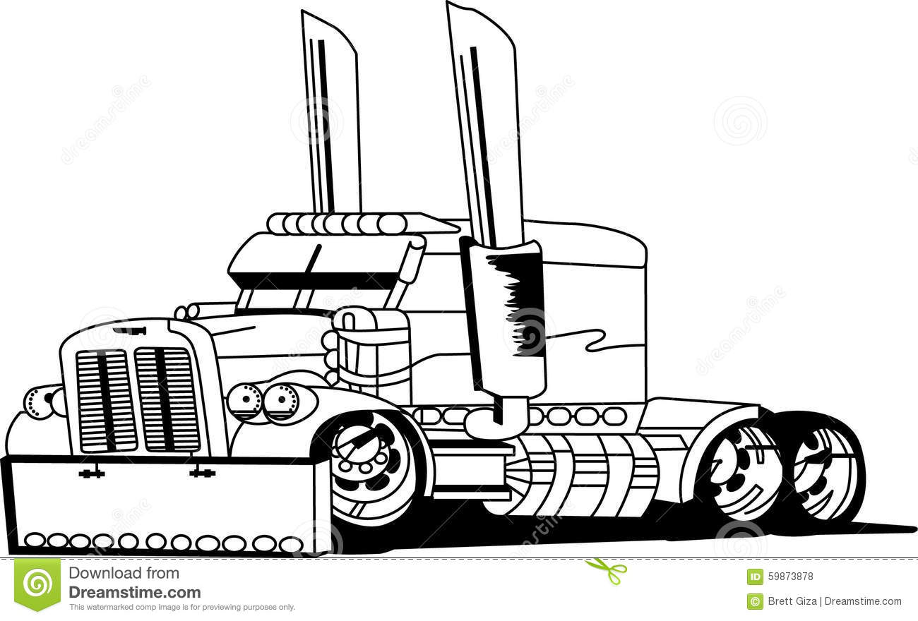royalty free stock photos  truck outline  image  59873878