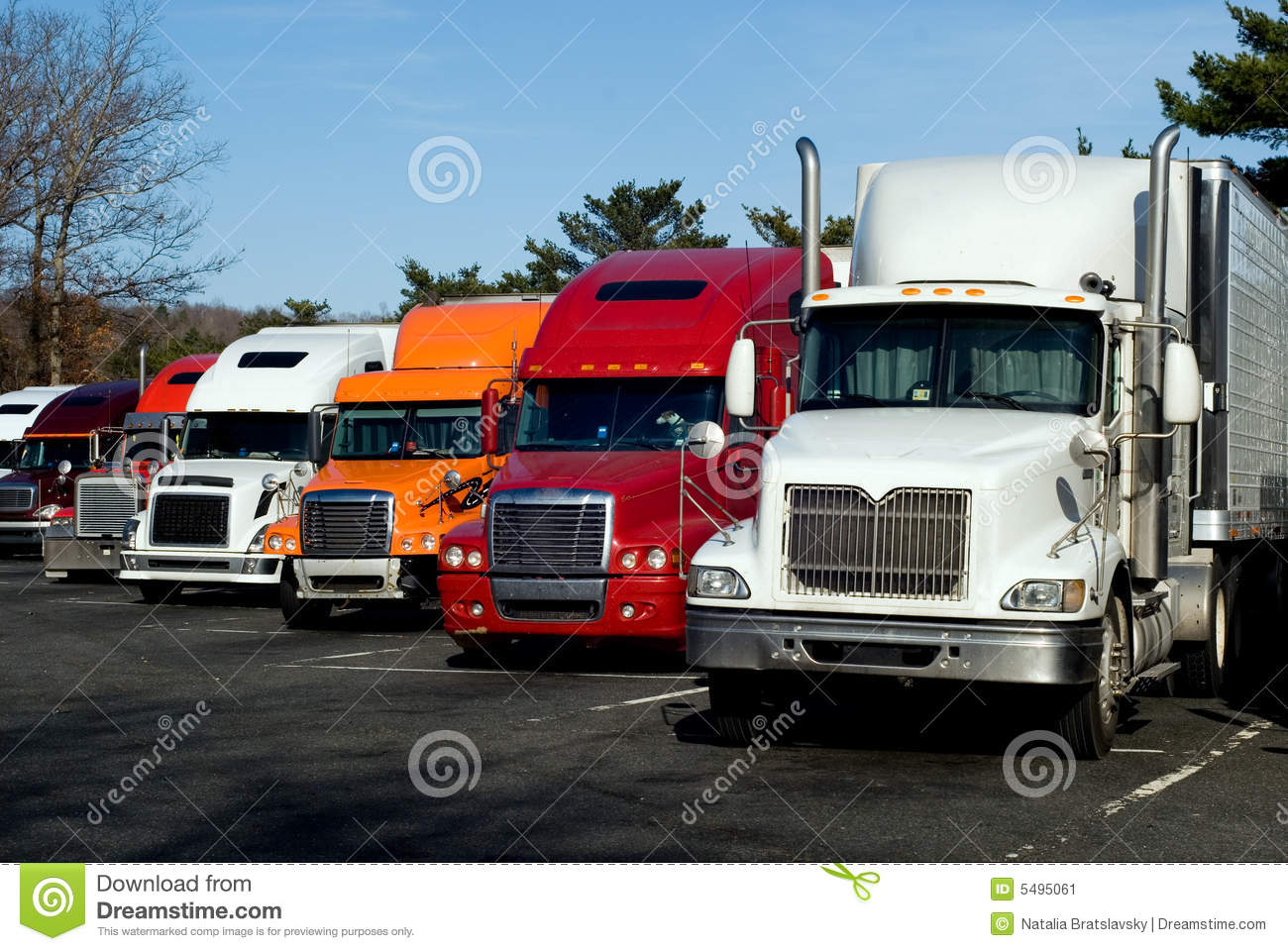 Truck rest area