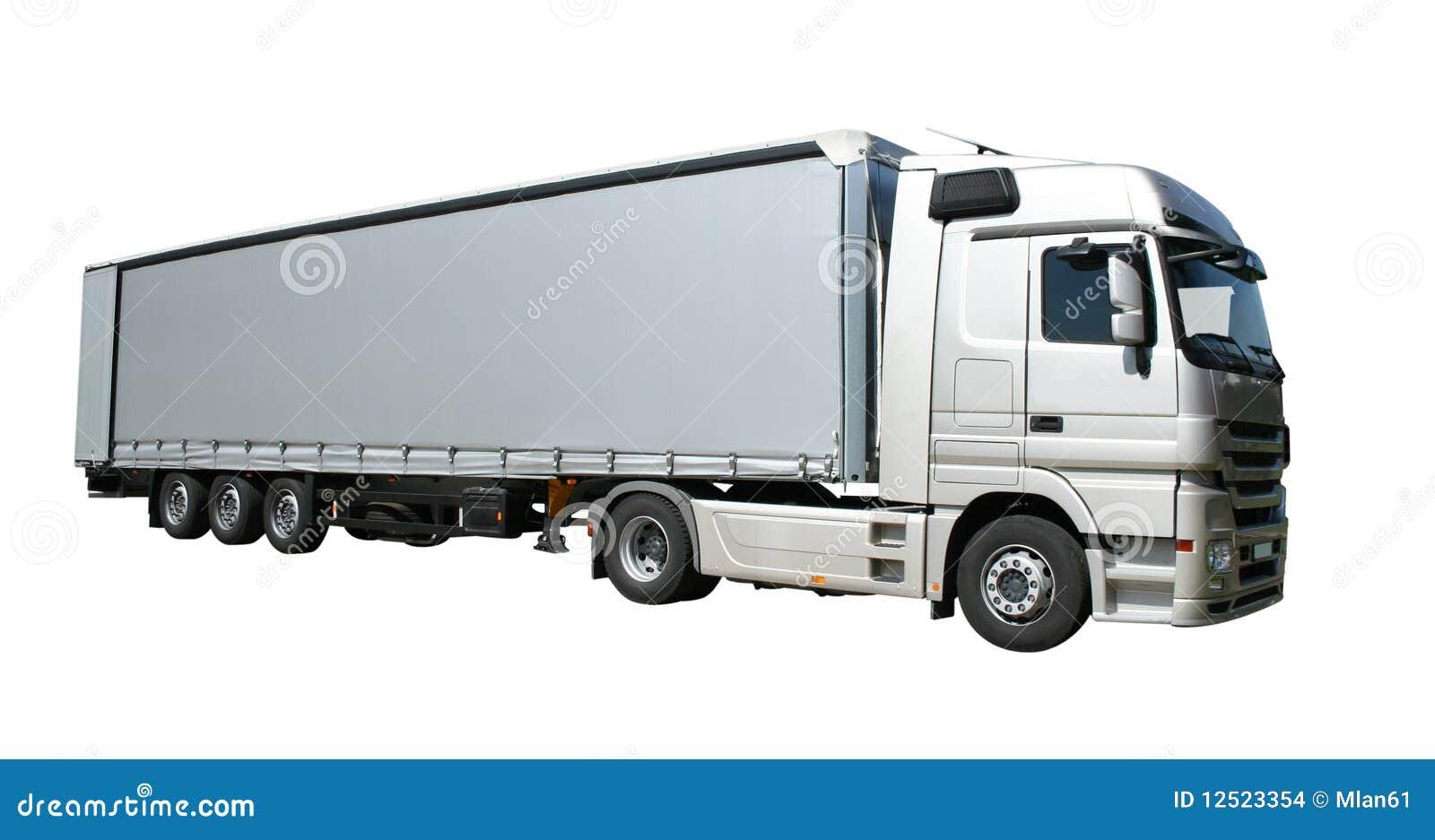 Truck Semitrailer Stock Photo Image Of Trucking