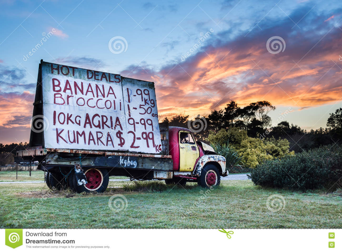 Truck Signage stock image. Image of price, scale, truck - 73869941