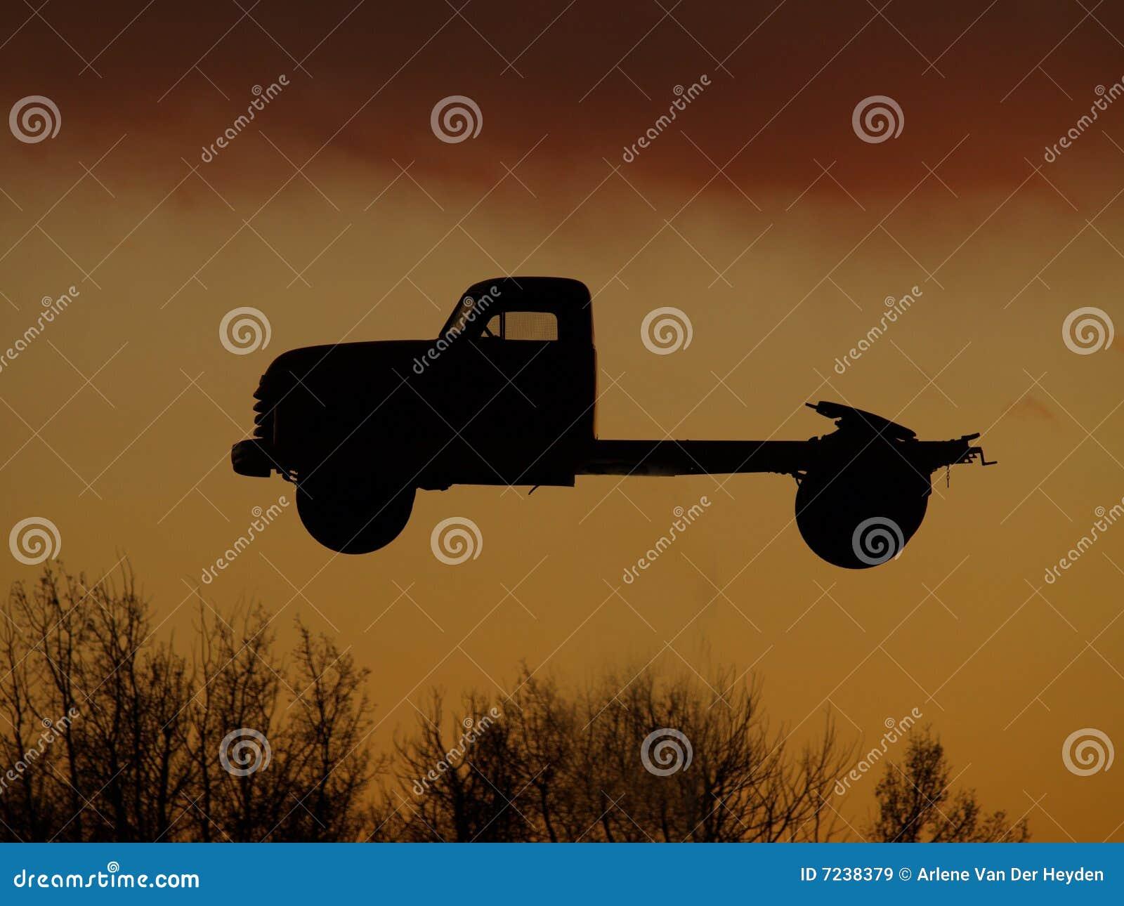 Semi Truck Silhouette Truck Silhouette f