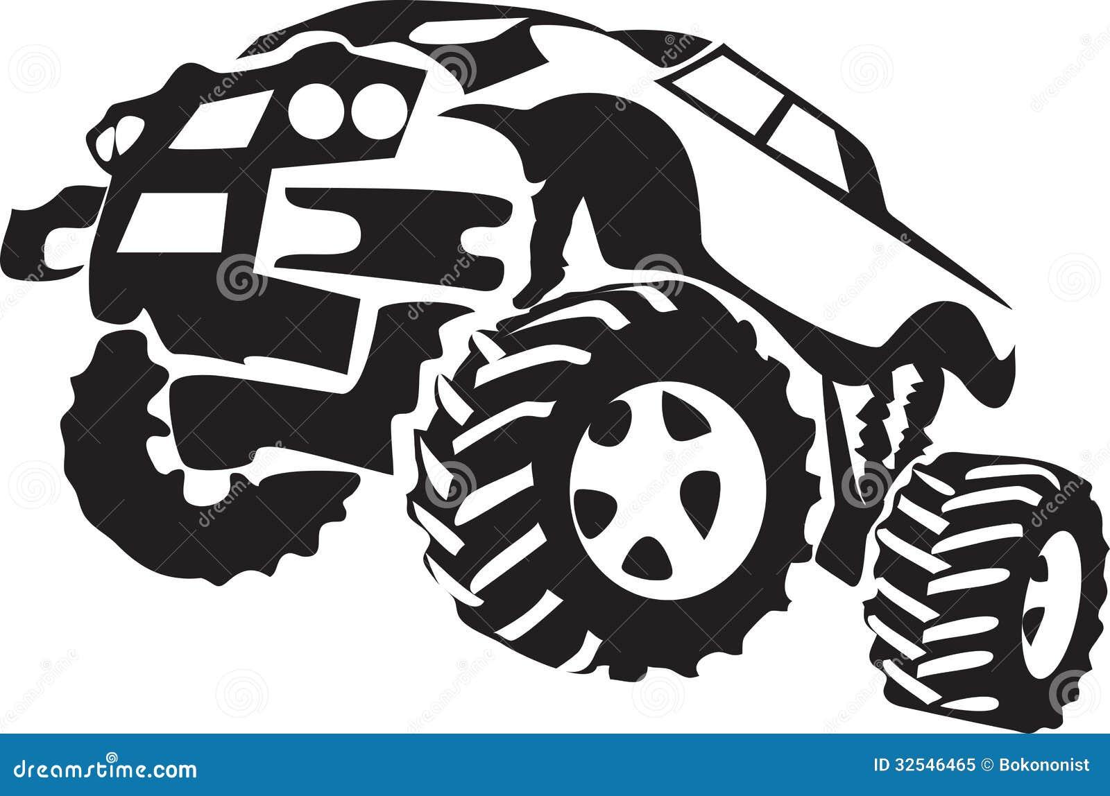 Truck Stock Vector Illustration Of Truck Racing Sport 32546465