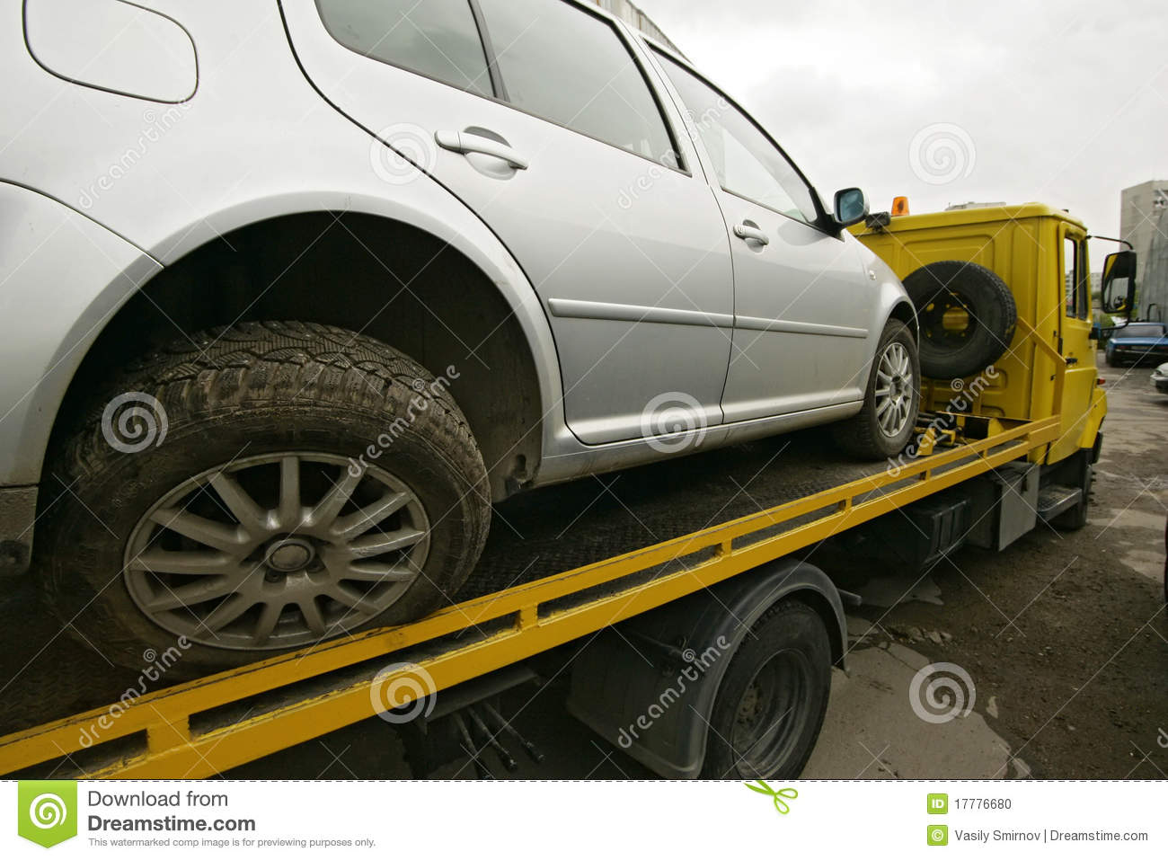 Truck tow