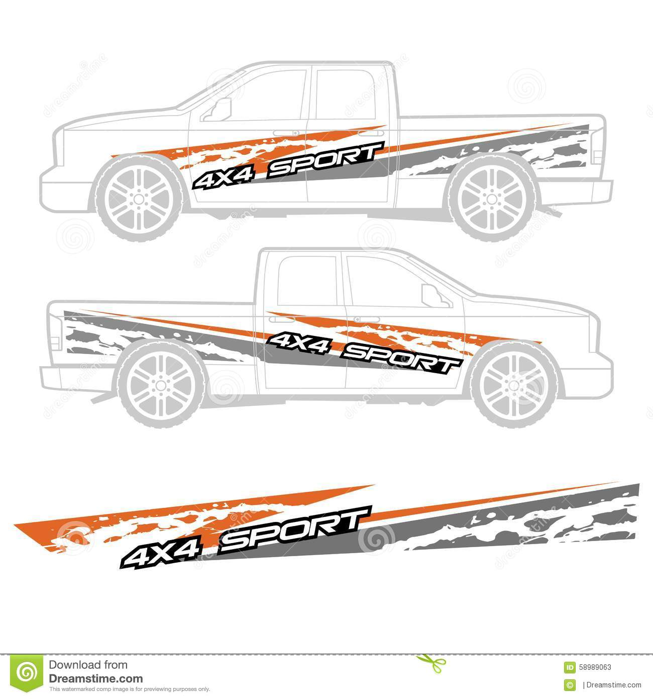 Truck And Vehicle Decal Graphic Design Stock Illustration Image - Truck decal graphicstruck and vehicle decal graphic design stock vector image
