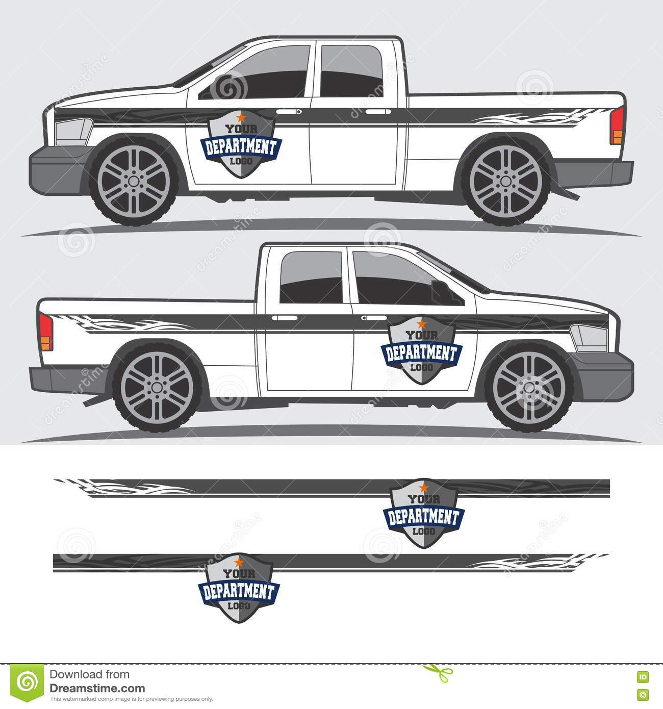 Car decals and graphics design - Truck And Vehicle Decal Graphic Design