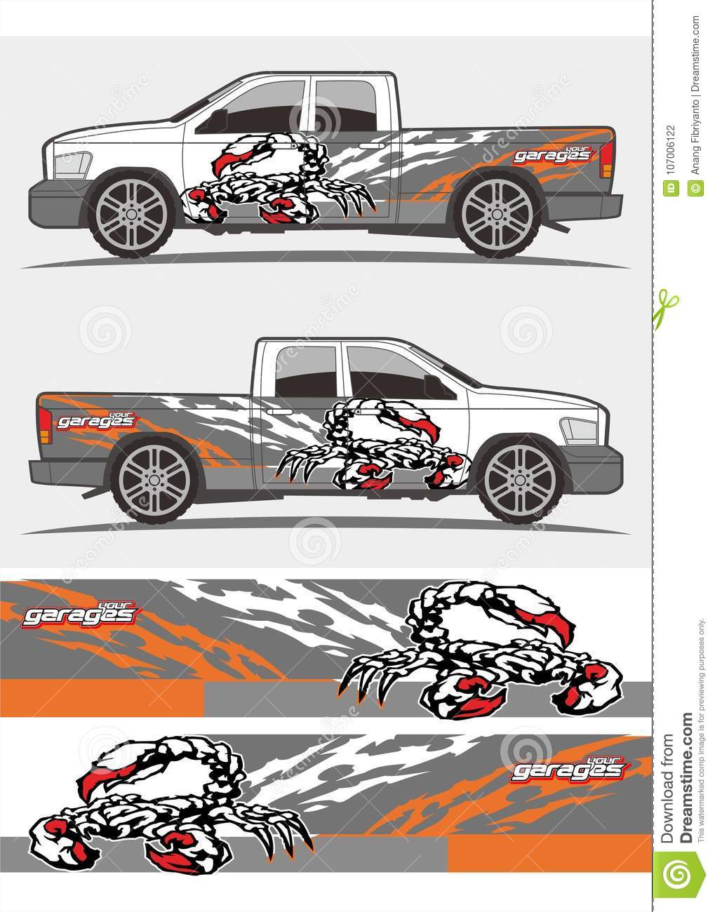Truck and vehicle decal graphics kits design tribal graphics kits for truck and other vehicles decals and stickers scorpion decals for trucks