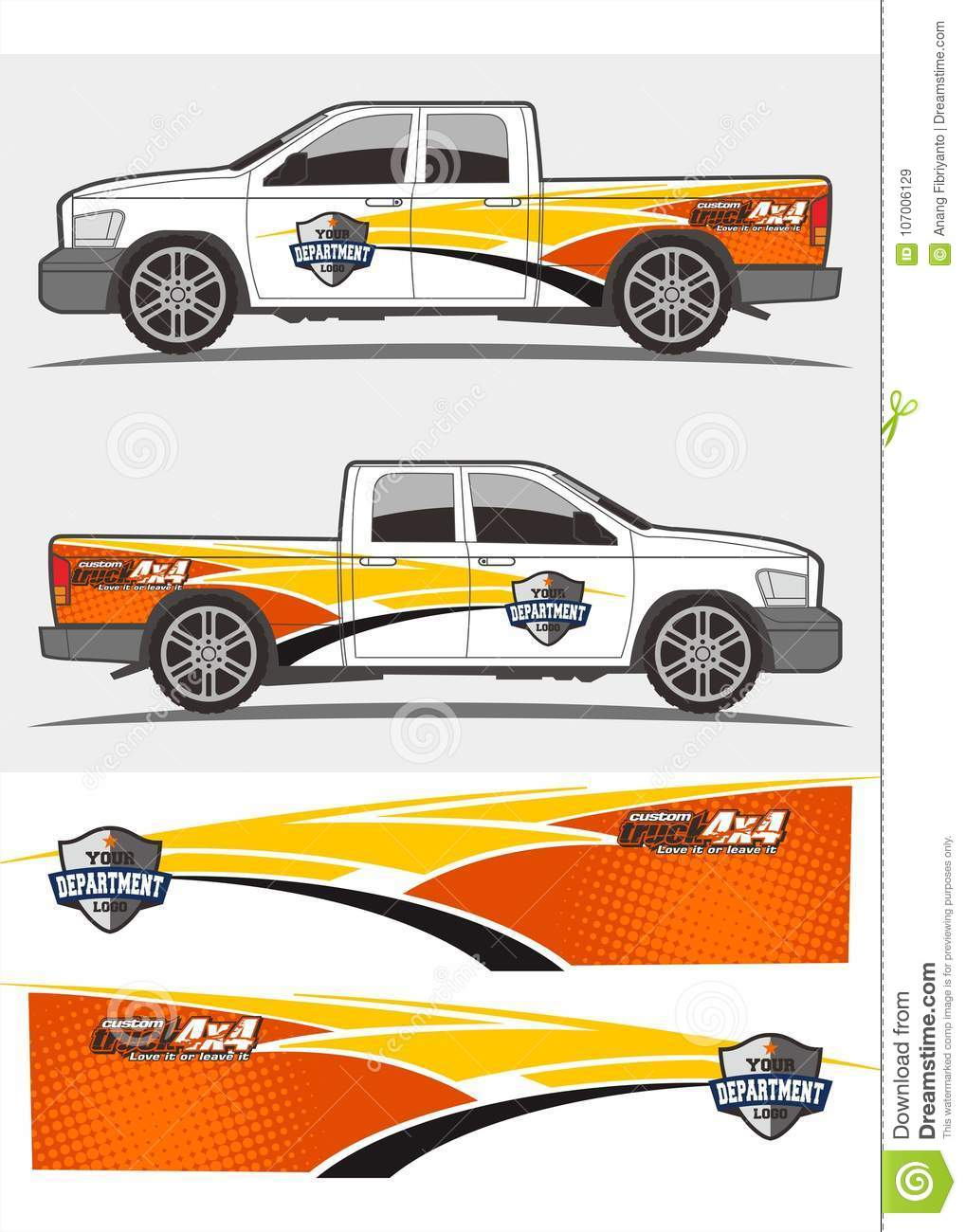 Truck and vehicle decal graphics kits design tribal graphics kits for truck and other vehicles decals and stickers colorful decal design kits for trucks
