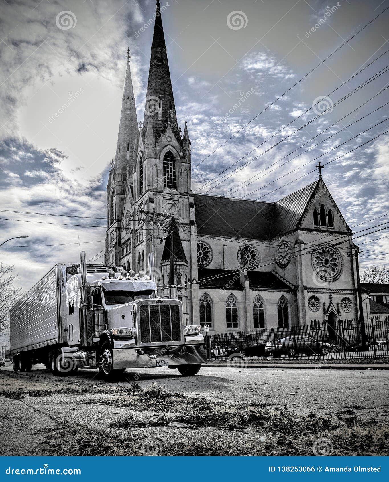 Truckin και εκκλησία