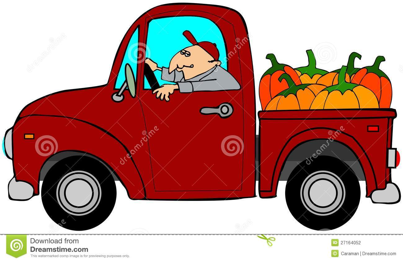 Truckload Of Pumpkins Stock Photography Image 27164052