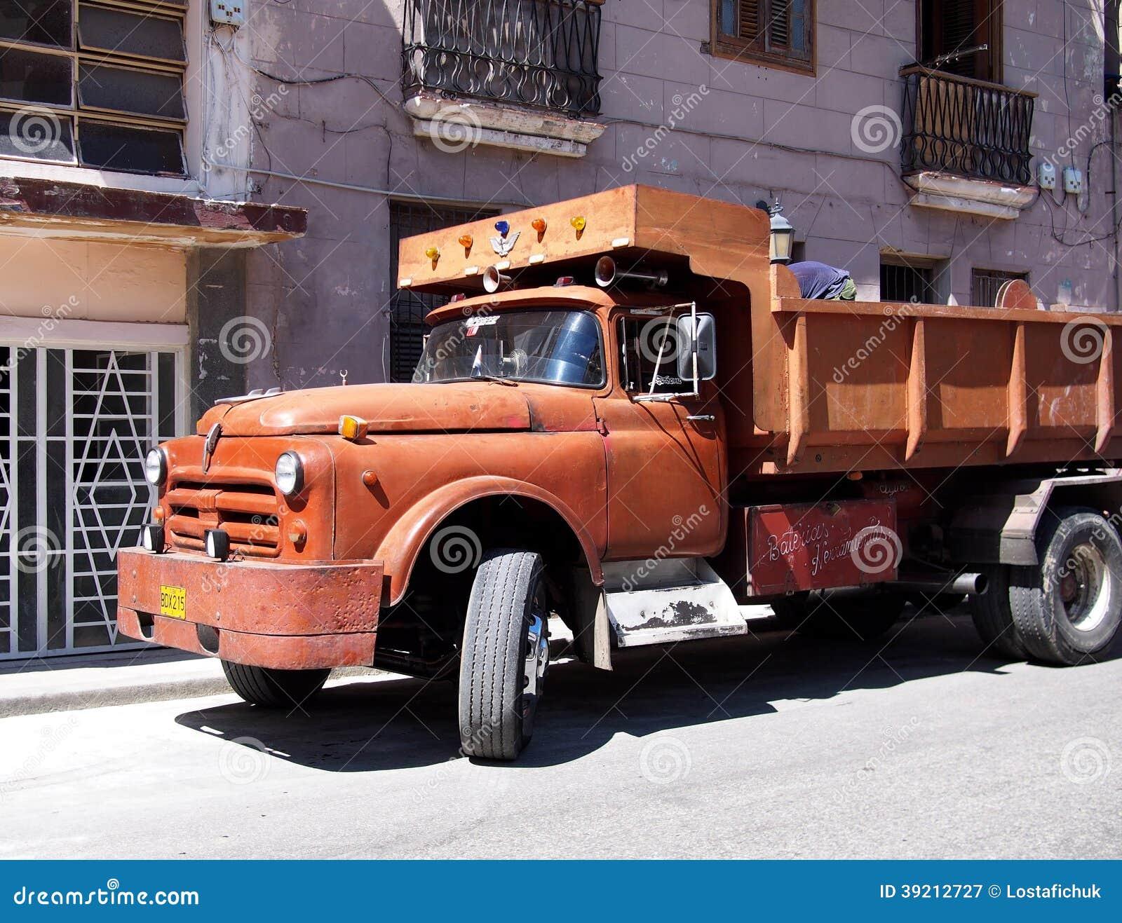 Trucks Of Cuba Editorial Photography Image 39212727