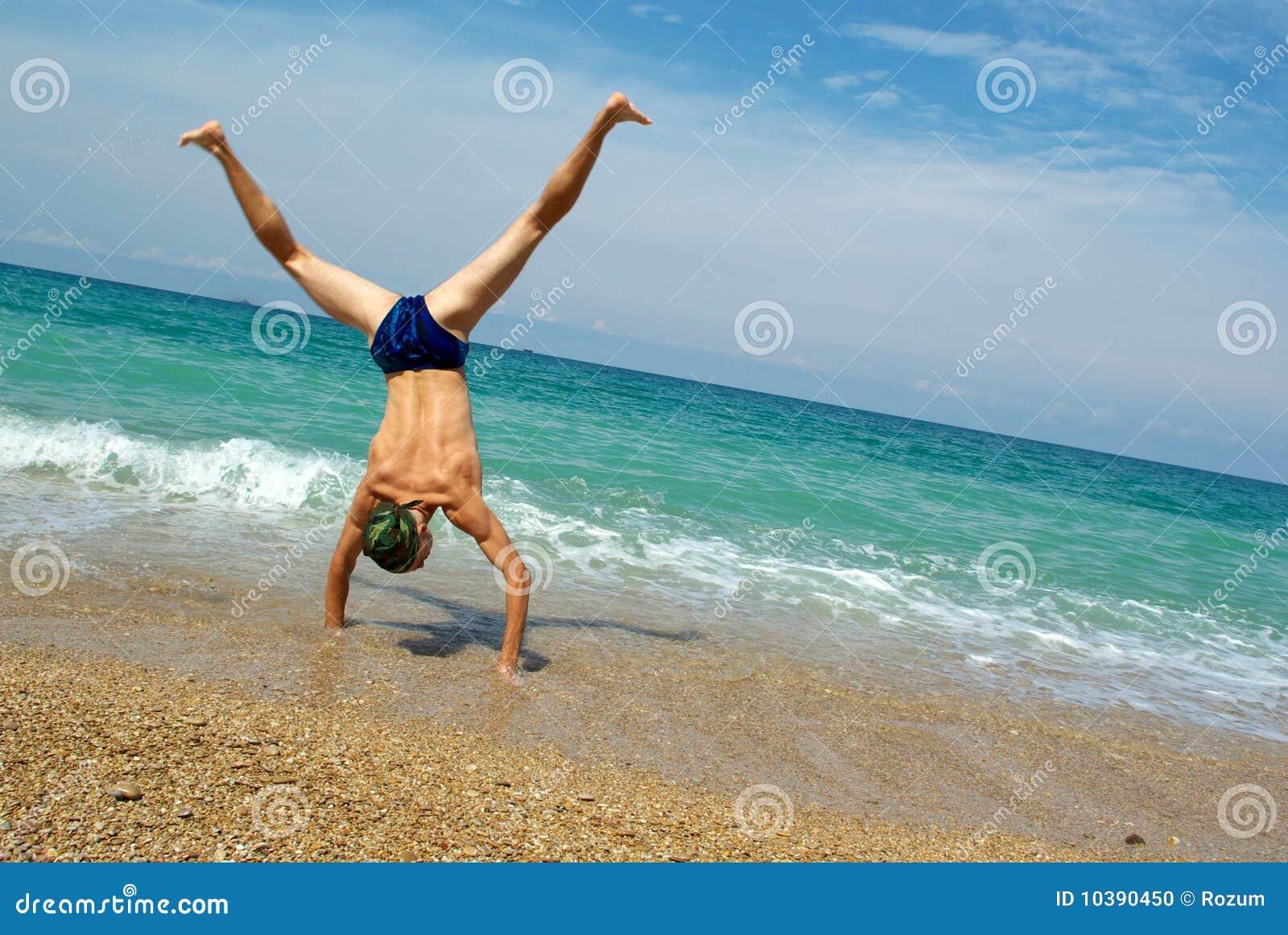 Truco en la playa
