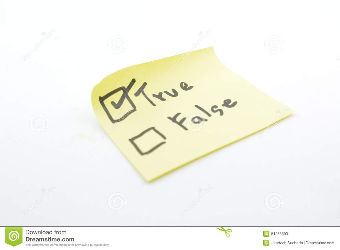 True or False in Business stock image  Image of business - 51268893