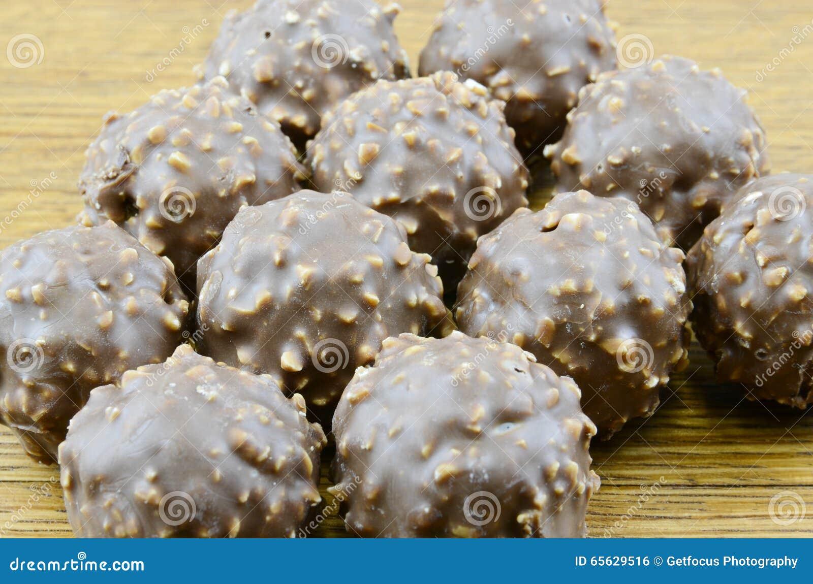 Truffes de chocolat