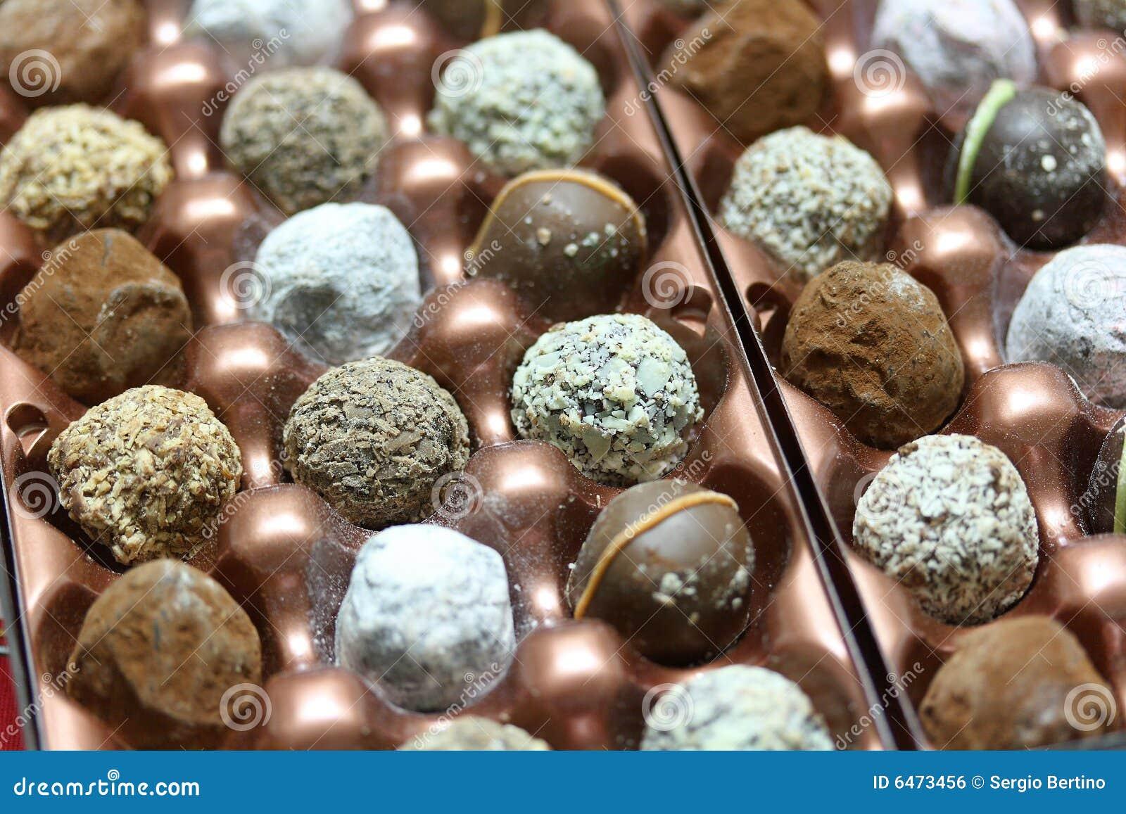 Trufle czekoladę