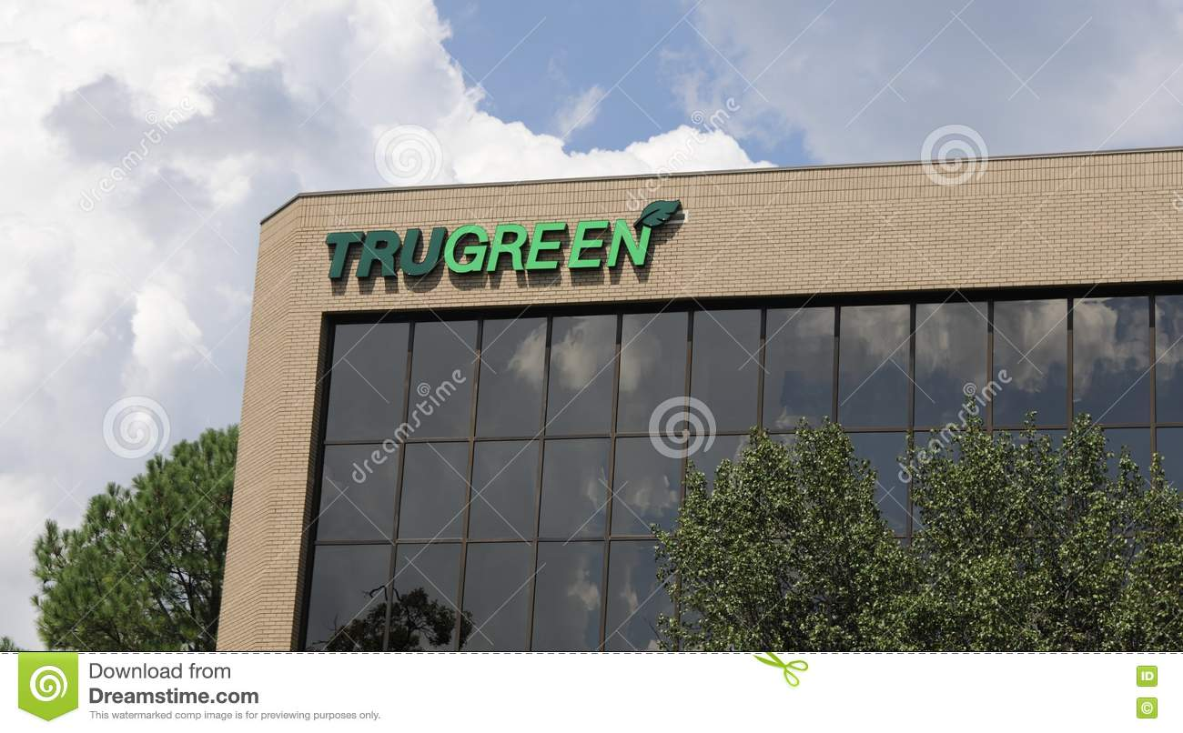Download Trugreen Lawn Company Building Editorial Stock Image   Image Of  Garden, Lawn: 76436494