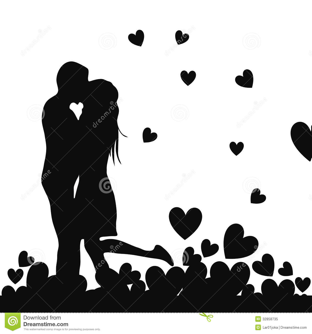Love Each Other When Two Souls: Truly Love In Valentines Day Royalty Free Stock Photo