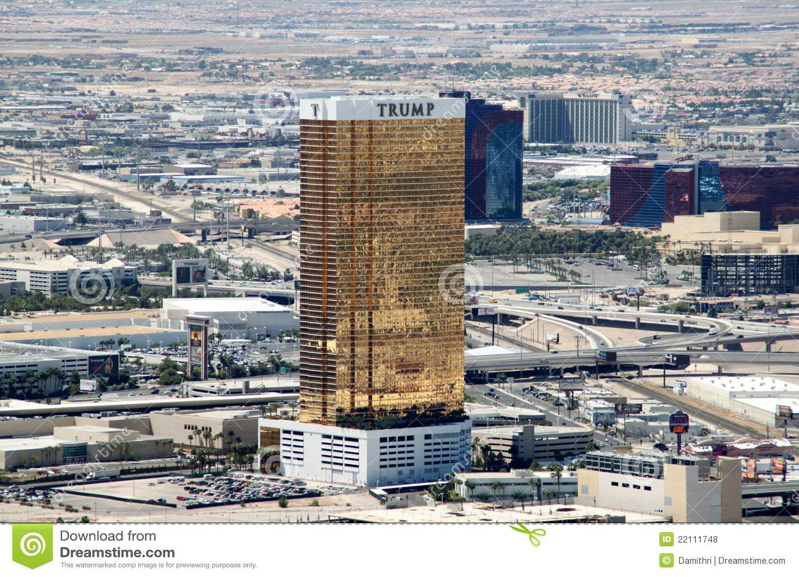 Trump International Hotel, Las Vegas Editorial Stock Photo - Image ...