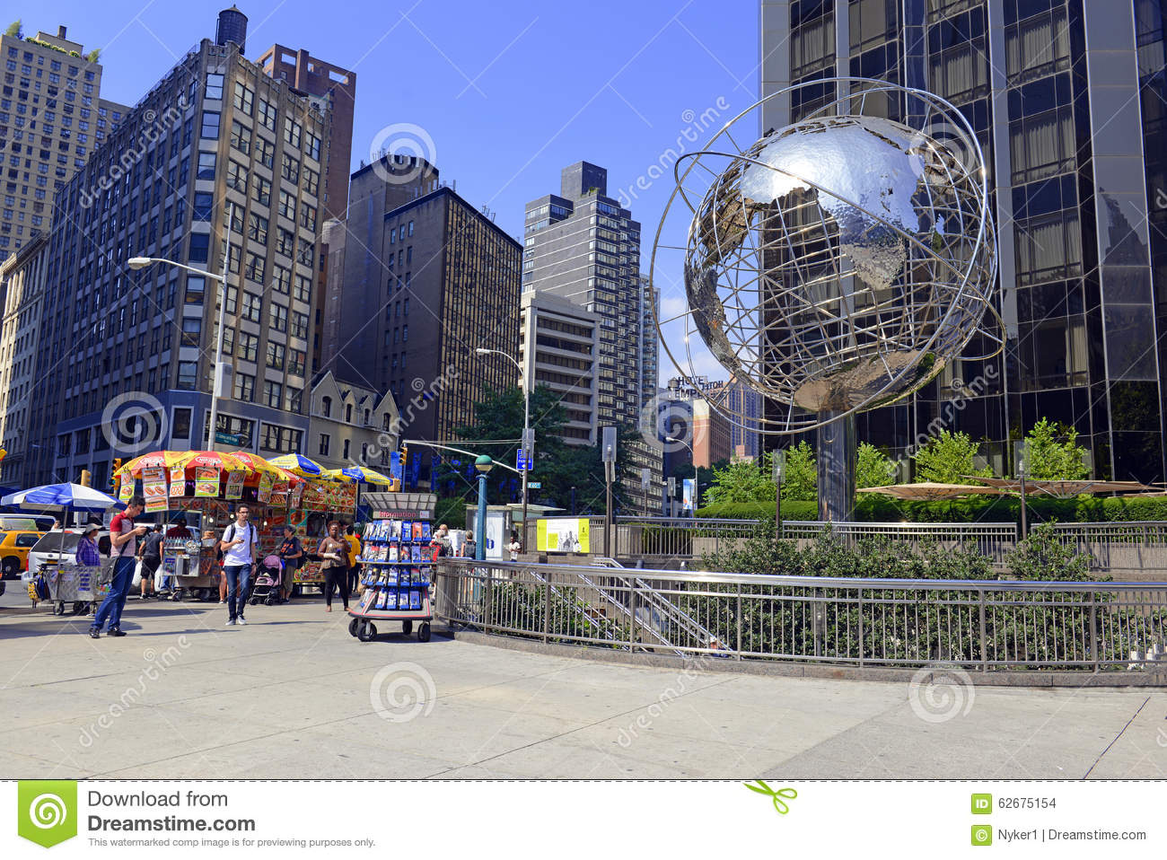EarthCam - Columbus Circle Cam