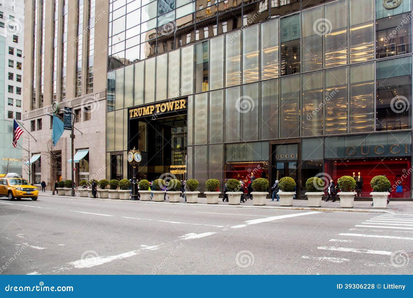 trump tower fifth avenue gucci