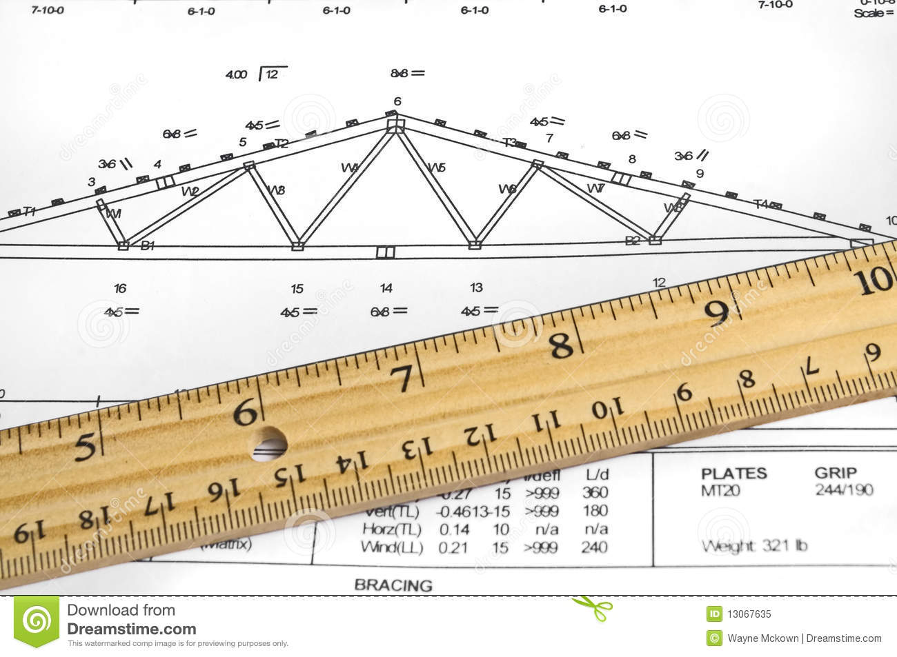 Truss Diagram Royalty Free Stock Photo - Image: 13067635