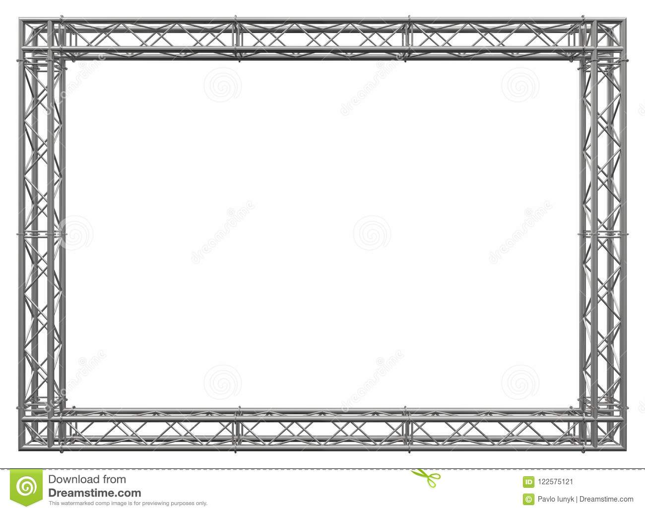Trusses Construction Stainless Steel Decorative Border Stock ...