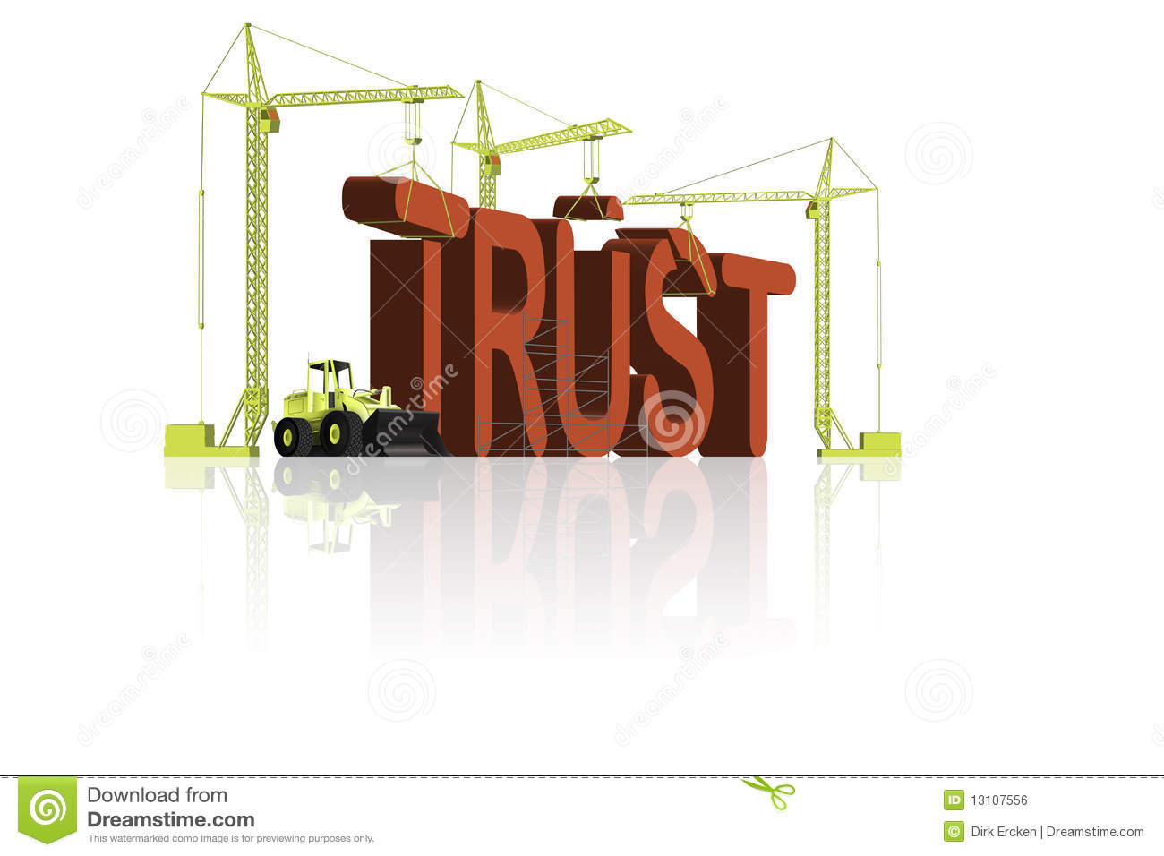 Trust reliability consistency and relationship building