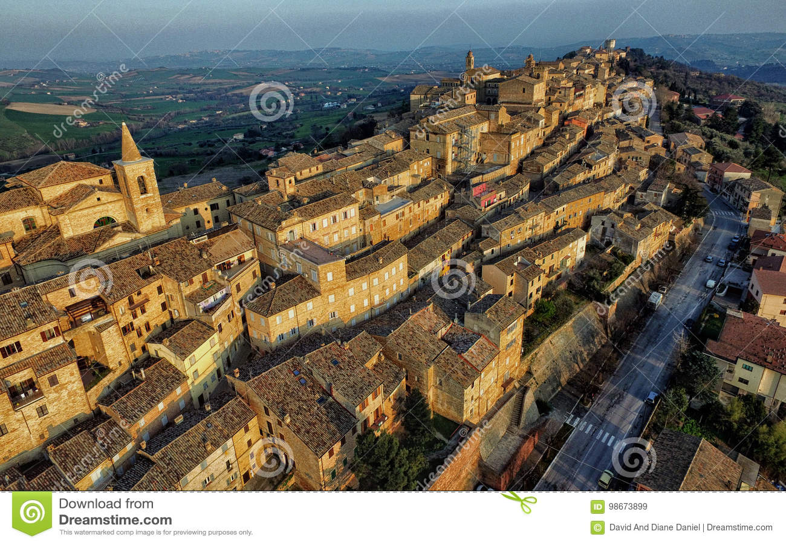 Truteń fotografia Treia, Macerata, Marche Włochy