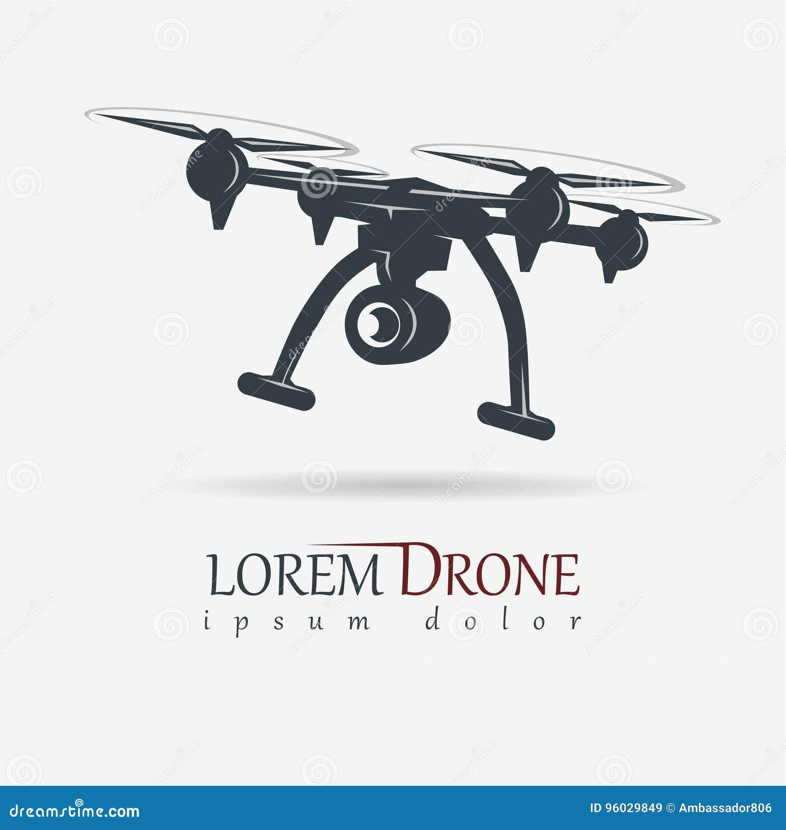 Truteń z akci kamerą, quadrocopter wektor