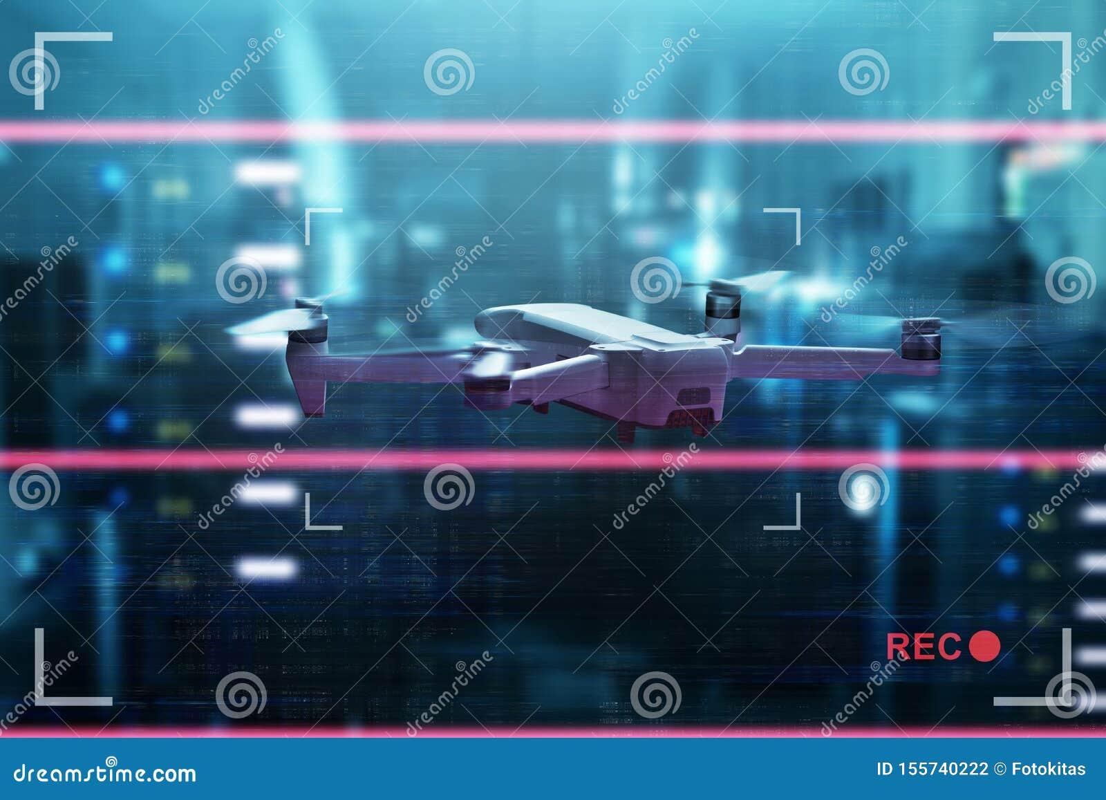 Trutnia quadcopter z cyfrowej kamery lataniem