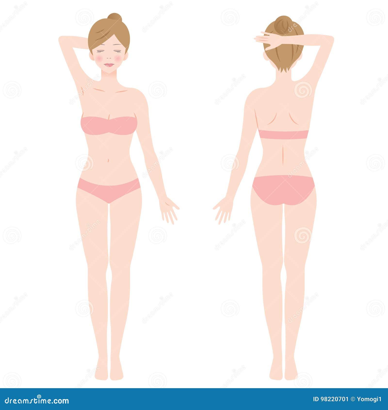 Trwanie żeński ciało