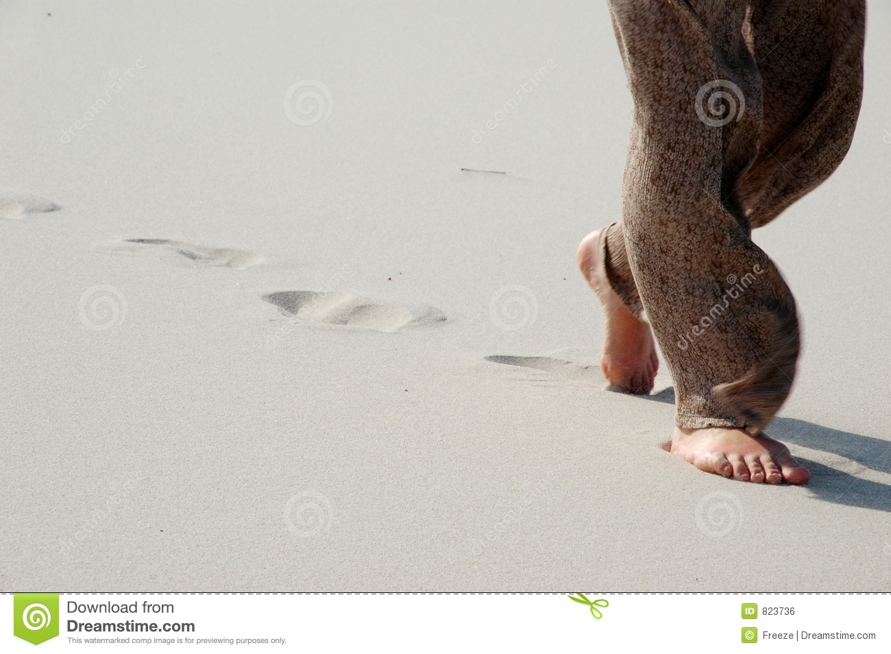 Try walking in the sands