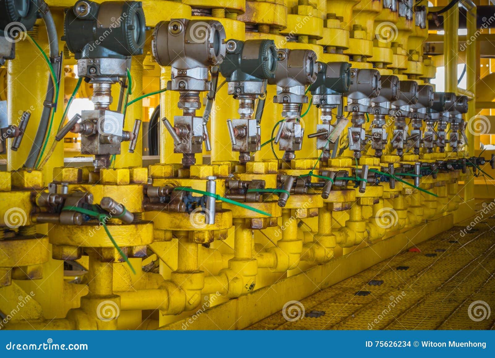 Trycksändare i fossila bränslenprocess