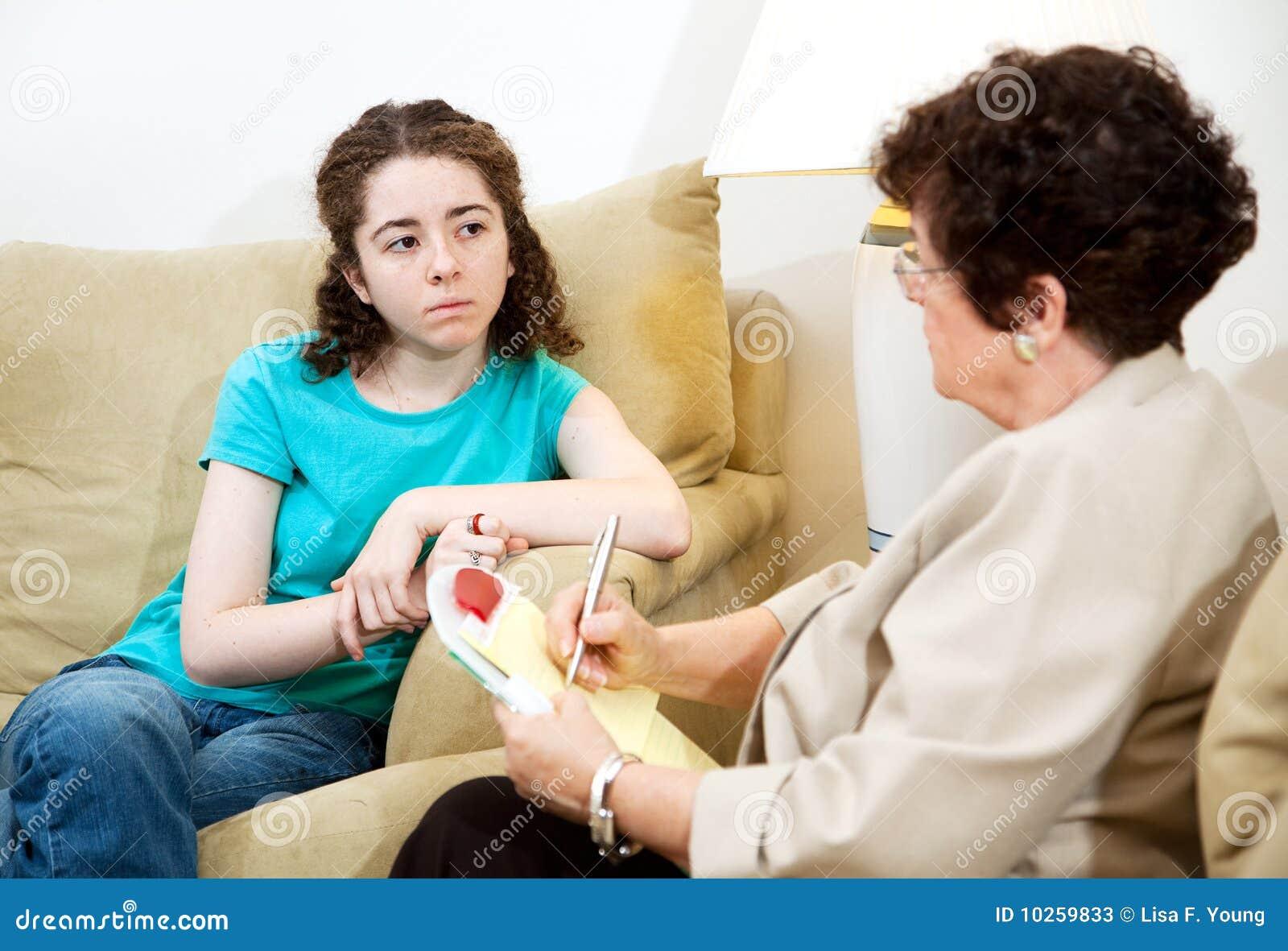 Tryckt ned teen terapi