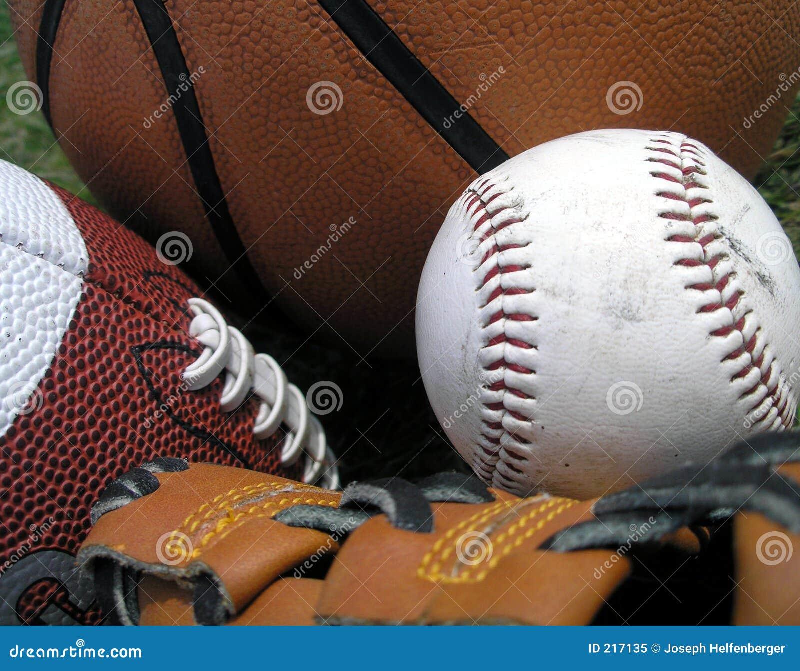 Trzy sporty.