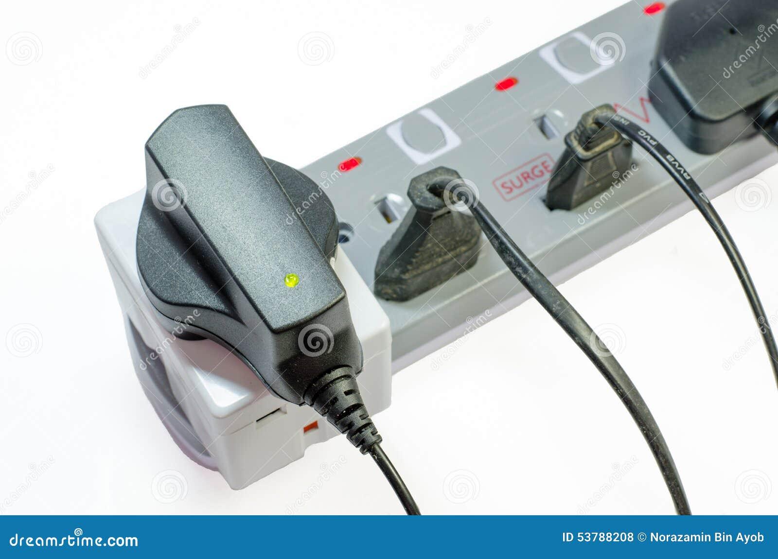 Trzy sposobów elektryczna nasadka