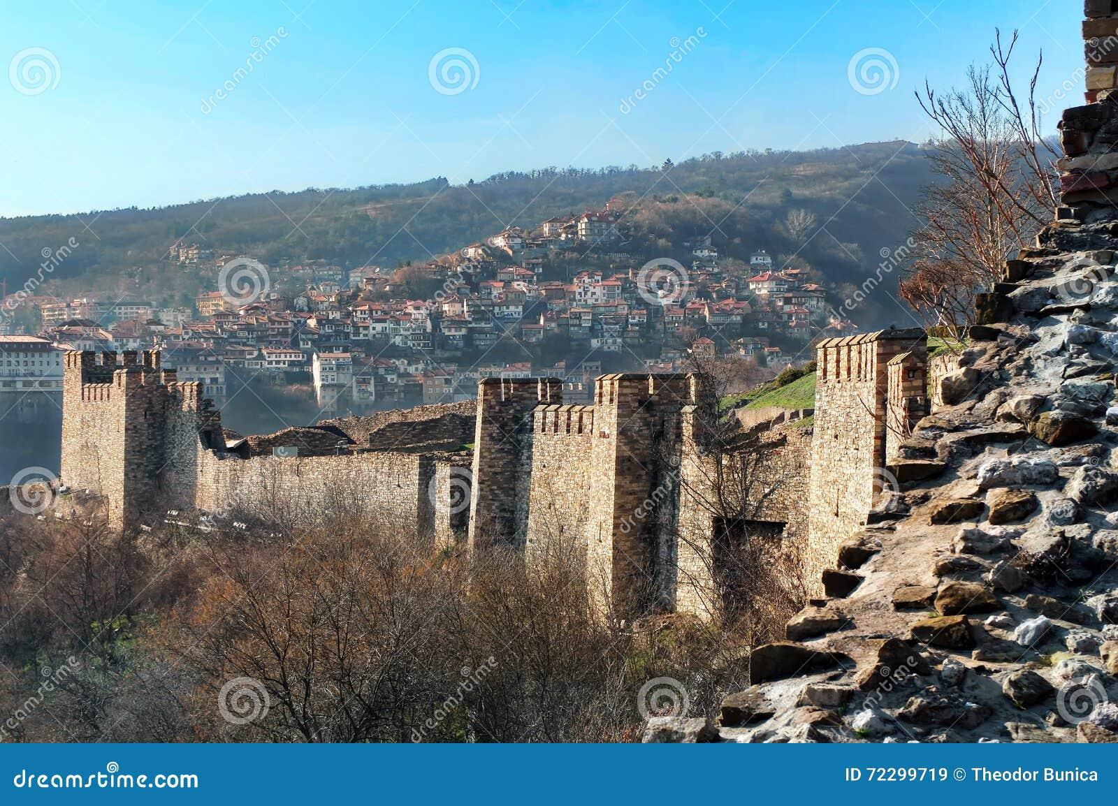 Tsarevets, средневековая крепость