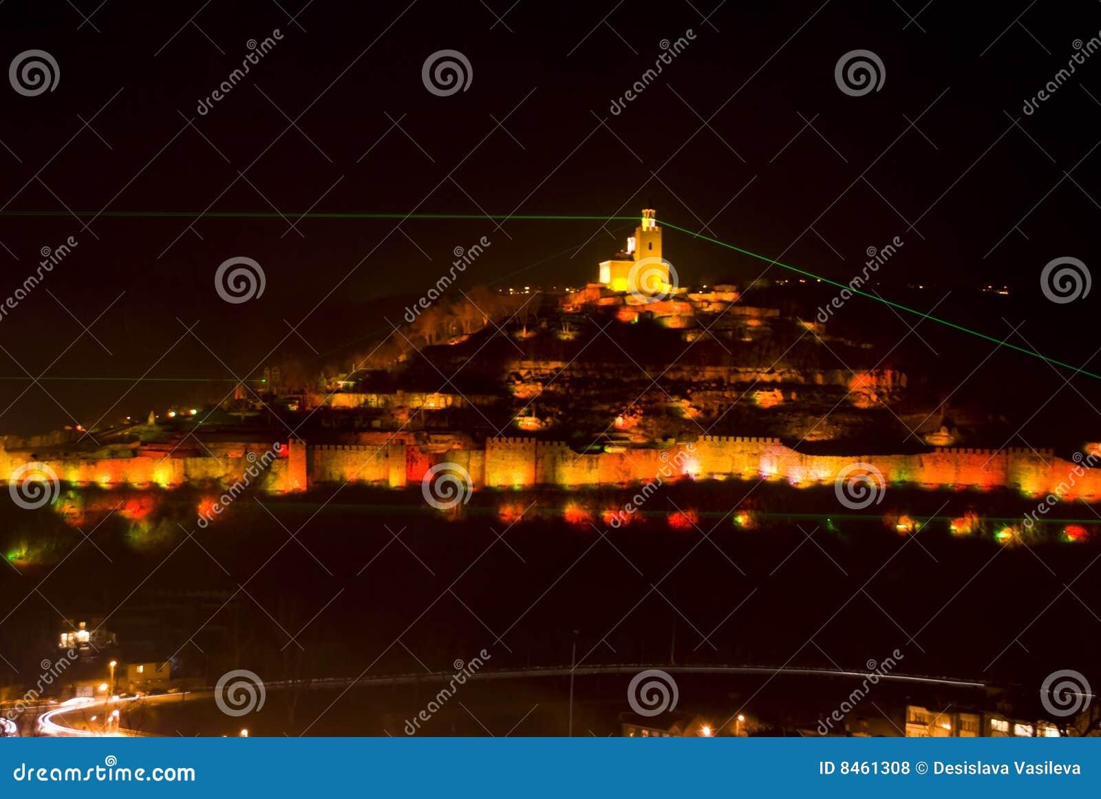 Tsarevets för fästninglampashow