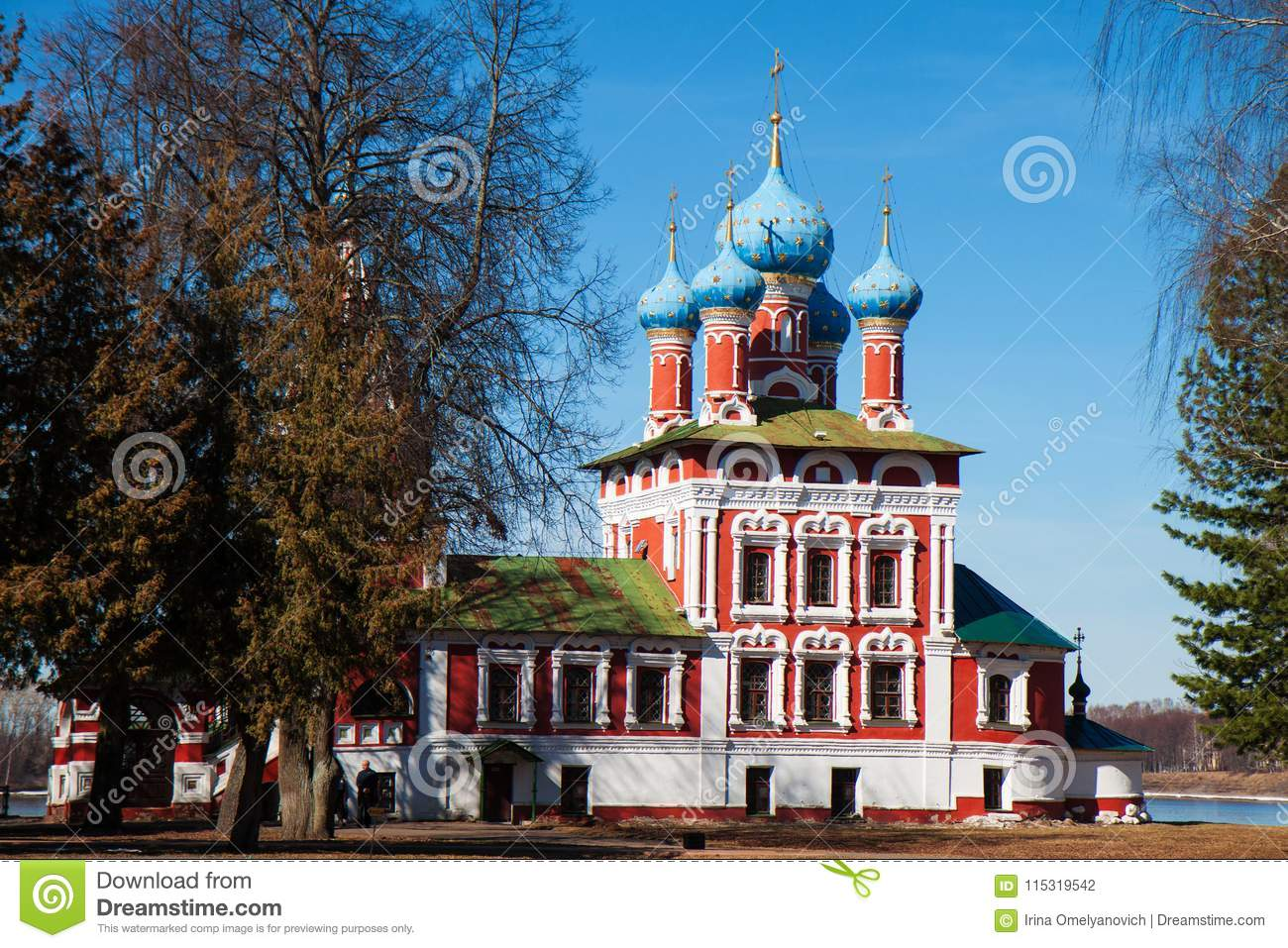 The Tsarevich Dmitry Church On Blood Editorial Photography - Image
