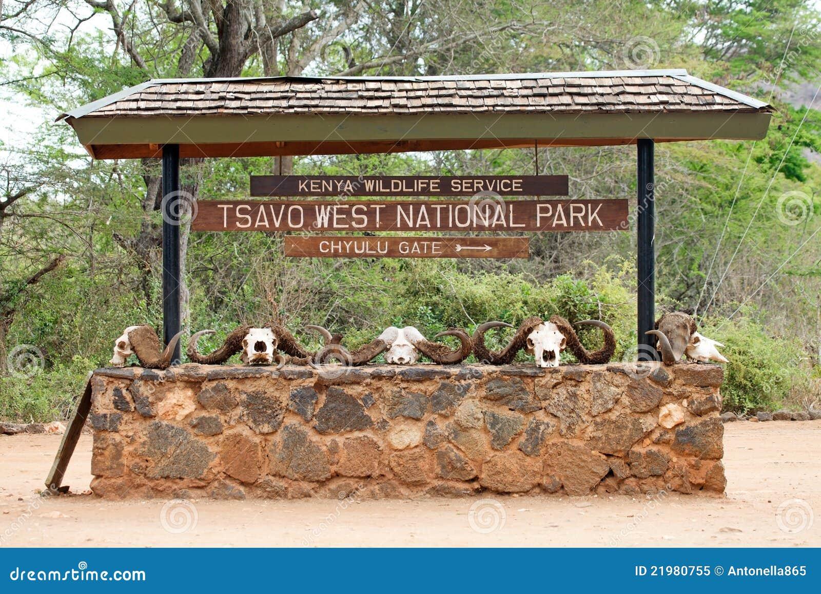 Tsavo Ostnationalpark